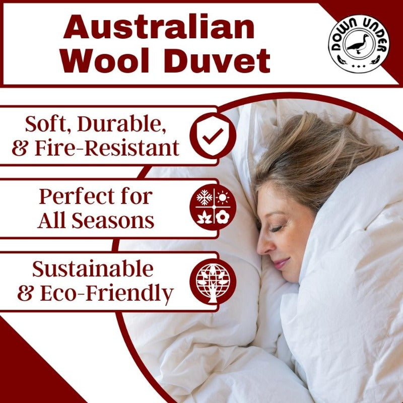 Natural Home Australian Wool Duvet Comforter