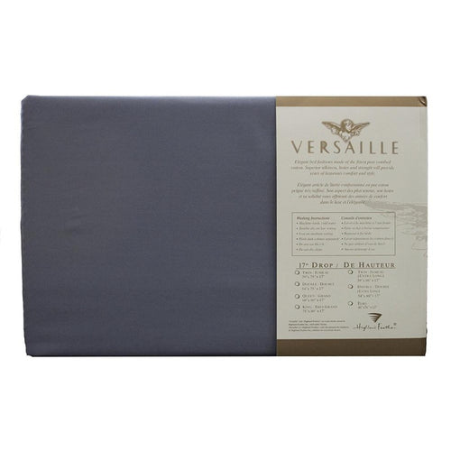 300TC 100% Combed Cotton Sheets Grey