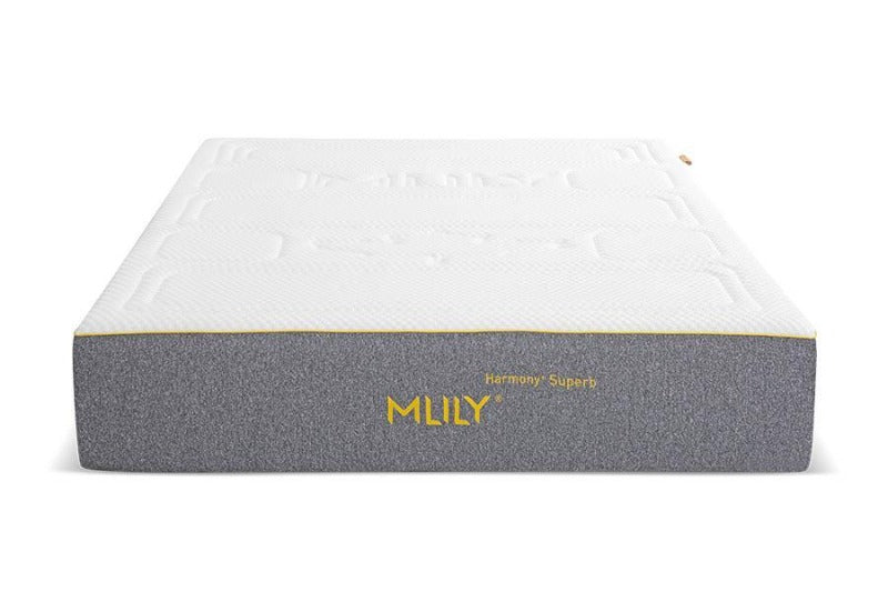 "MLILY 12"" Harmony+Superb Cool Gel Zoned Support Plush Comfort Mattress - Down Under Bedding and Mattresses"