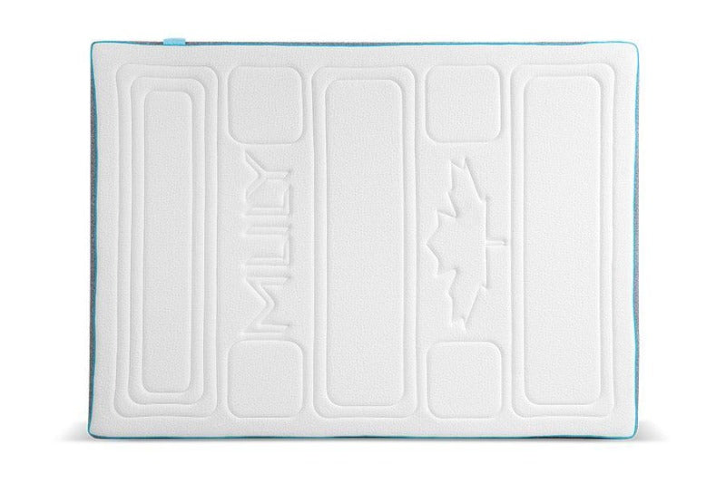 quilted gel cloud memory foam layer medium-firm ortho mattress 10 inch zipper cool breathable sleeper quilted MLILY harmony