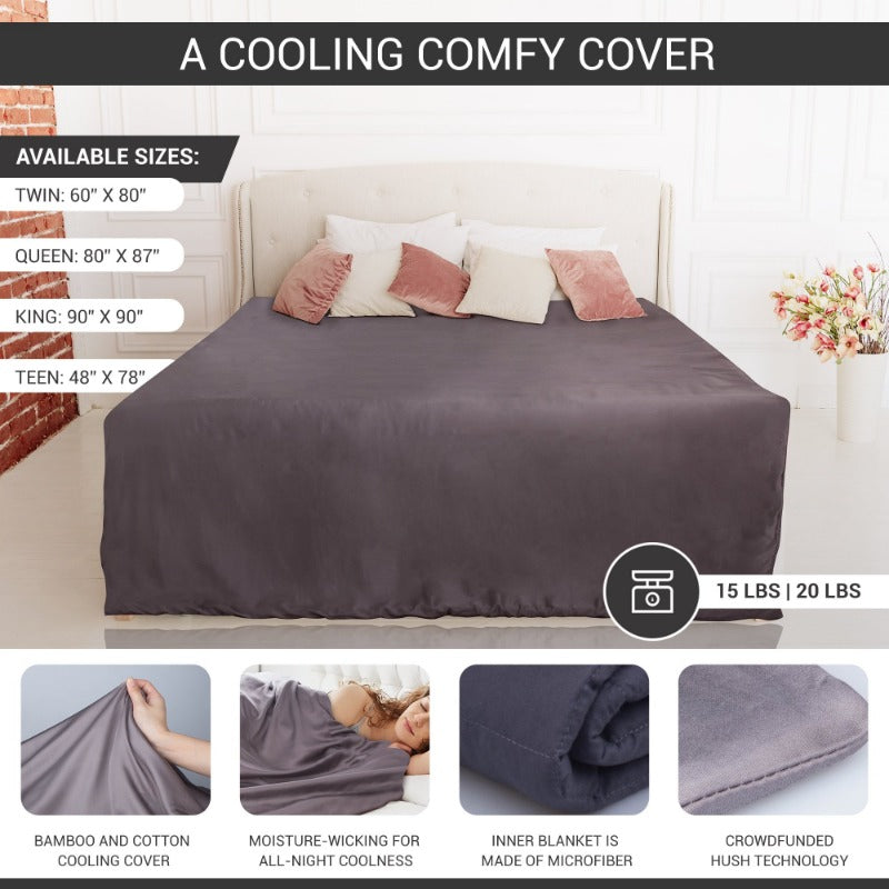The Hush ICED 2.0 Blanket With Removable Soft Duvet Cover