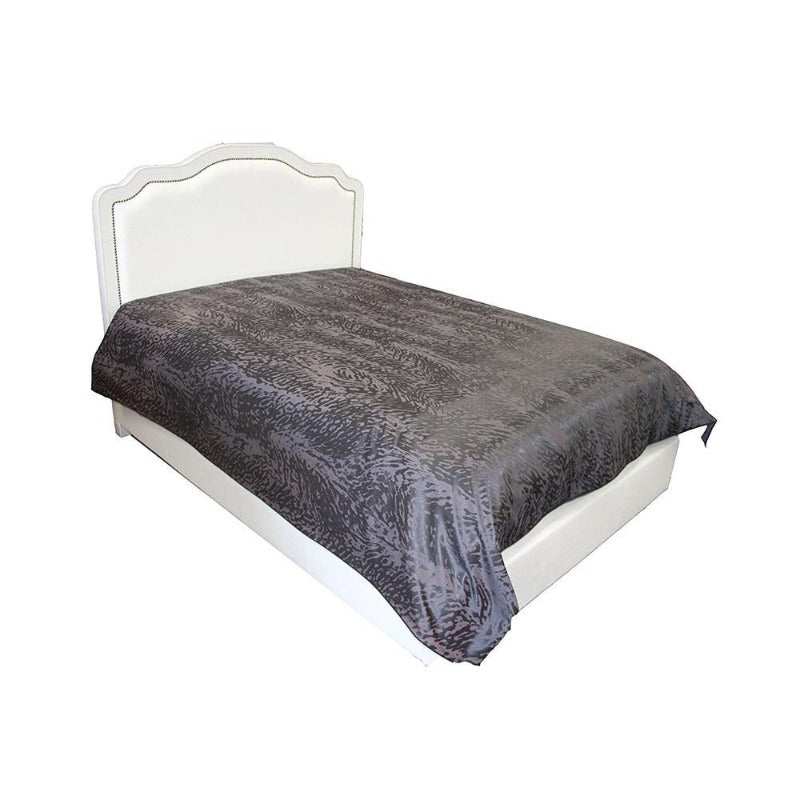 Black Leopard Queen Duvet Cover With Corner Ties - Down Under Bedding and Mattresses
