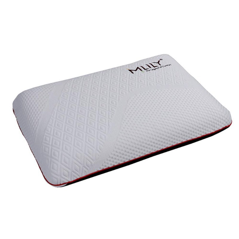 MLILY Manchester United Ventilated Memory Foam Pillow with Bamboo Charcoal Cover