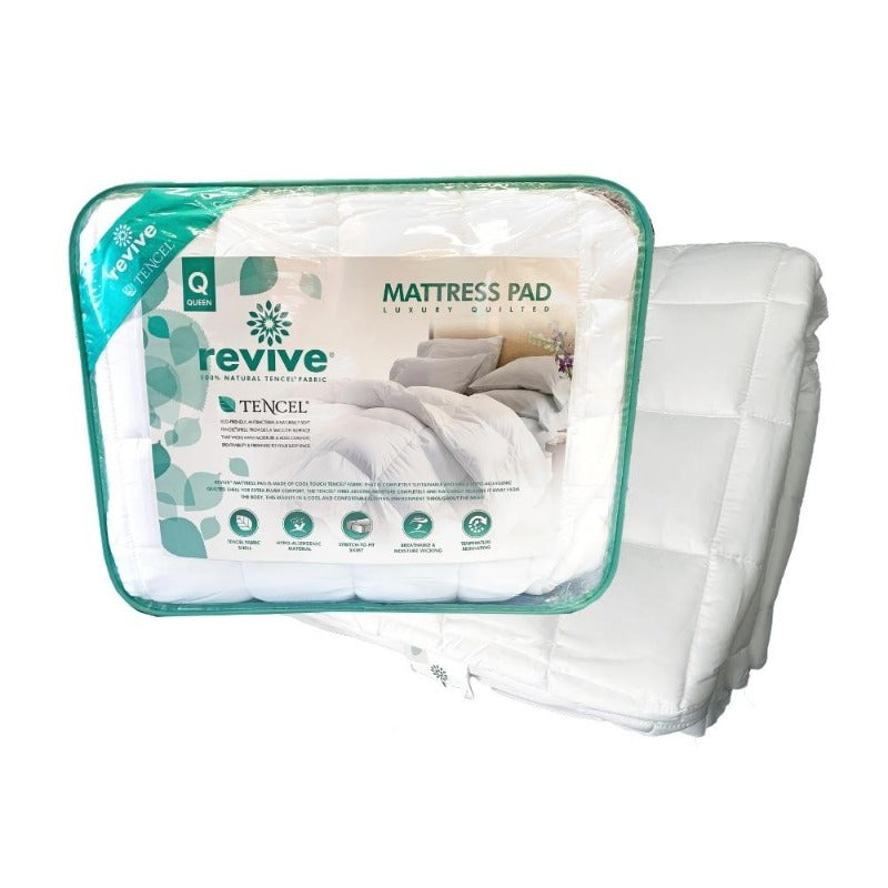 Revive Tencel Mattress Pad | Down Under Bedding