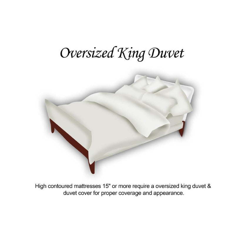 White Goose Down Super King Duvet - Down Under Bedding and Mattresses