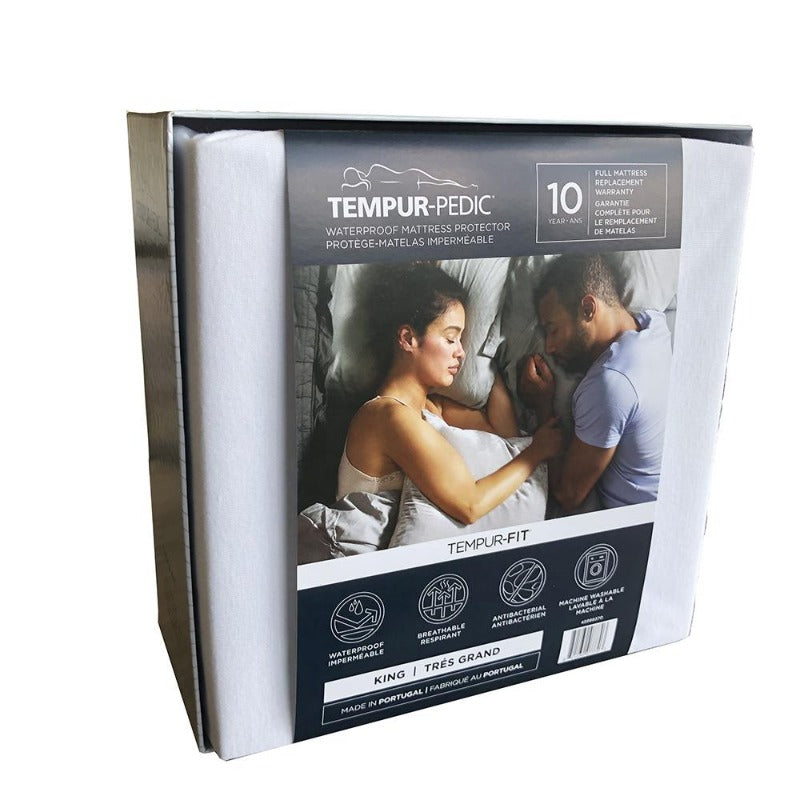 TEMPUR-PEDIC® TEMPUR-FIT™ WATERPROOF MATTRESS PROTECTOR