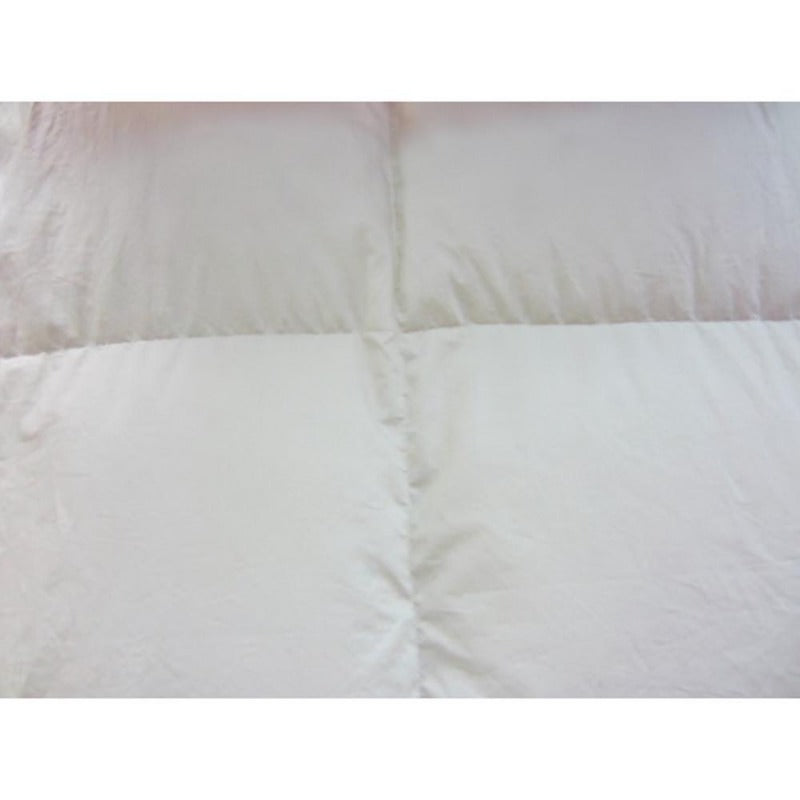 white duck down feather bedspreads coverlets goose geese blanket quilt warm fluffy 233 thread count all season summer winter