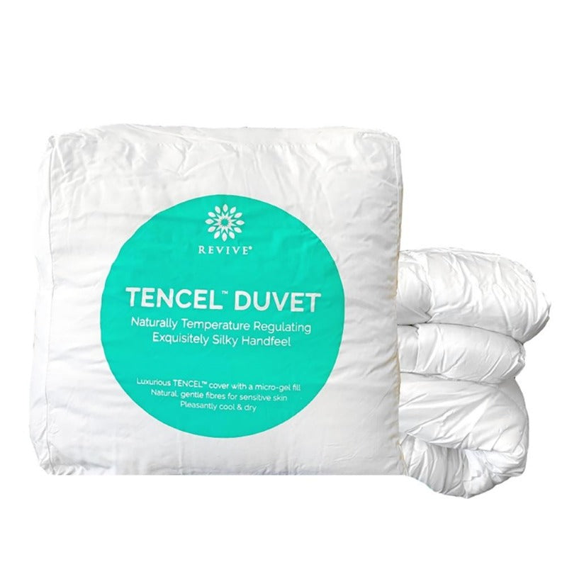 natural tencel cover bedding set cool moisture-wicking eco-friendly lightweight silky soft duvets comforter thermo-regulating