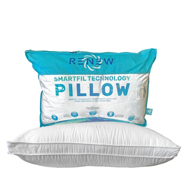 Renew Made From Recycled Plastic Pillow | Down Under Bedding
