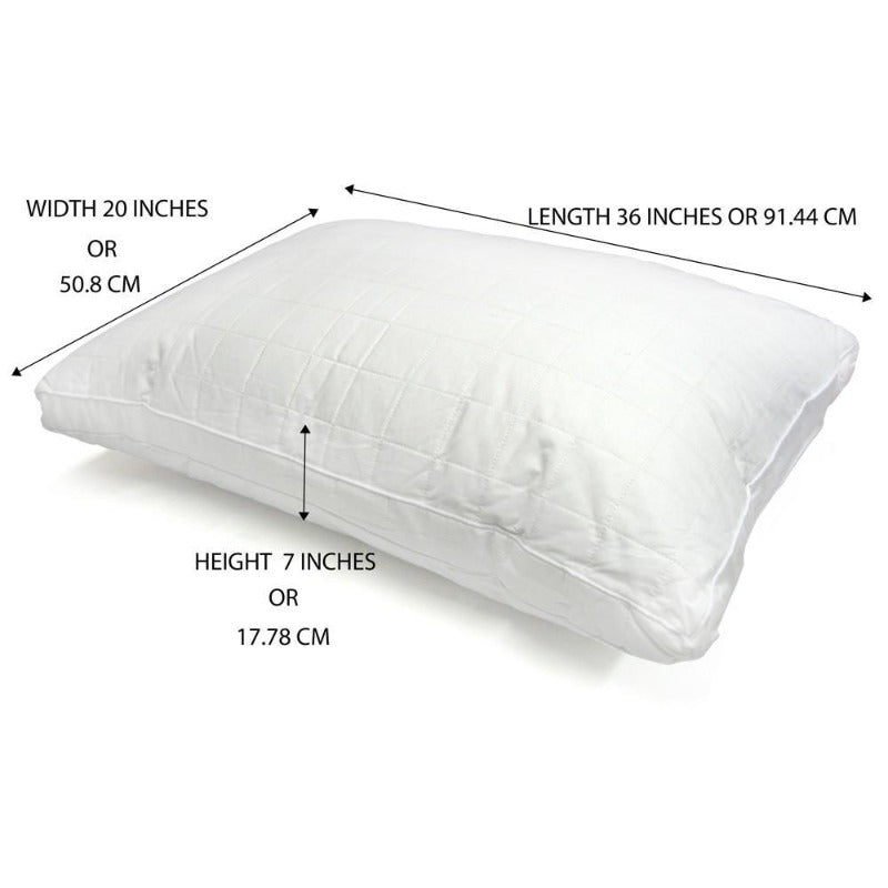 All Around Natural Silk Pillow - Down Under Bedding and Mattresses