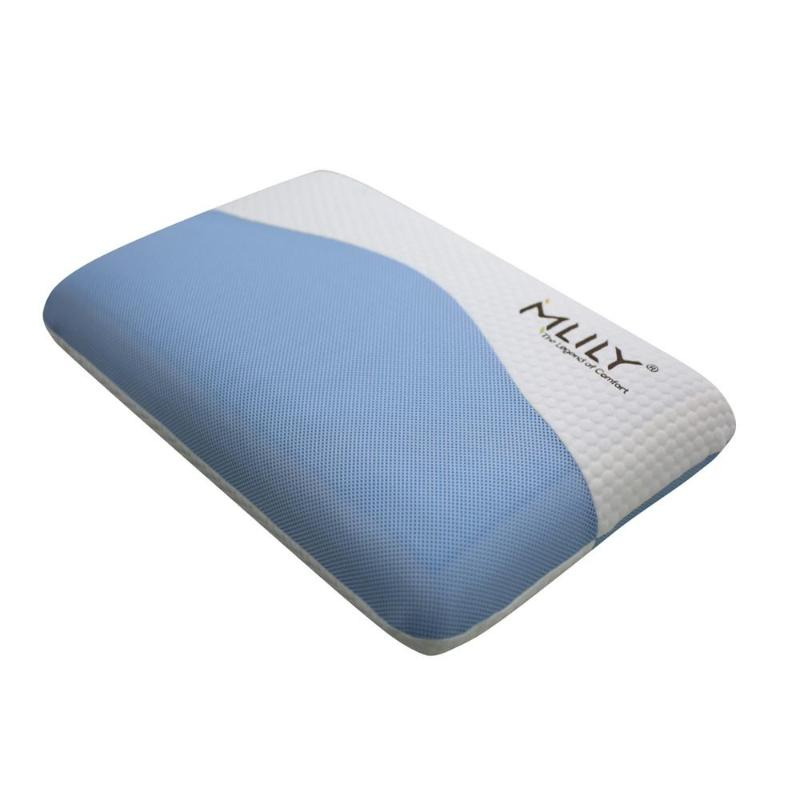 shoulder neck pain hotel fluffy memory foam firm bed pillow anti-snore cervical cooling gel  adjustable support profile