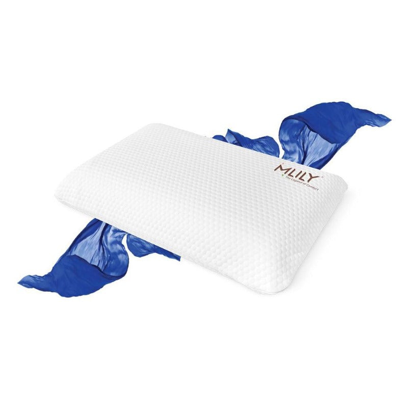 MLILY CertiPUR-US Memory Foam Vitality Pillow With Removable Cover - Down Under Bedding and Mattresses