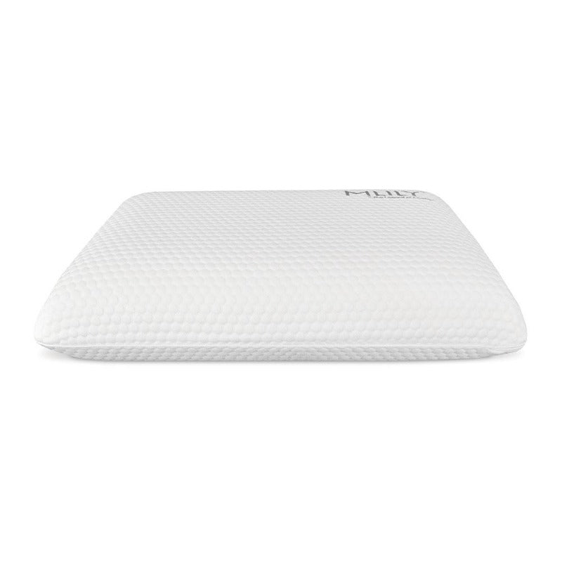 memory foam pillow cooling soft comfort contour ventilated airflow pillows removable cover MLILY CertiPUR-US luxurious white