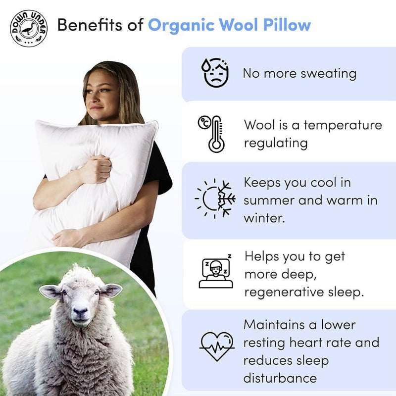 natural wool pillow benefits