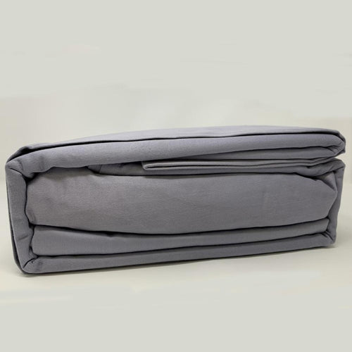 525TC 100% Cotton Sheet Set Grey - Down Under Bedding and Mattresses
