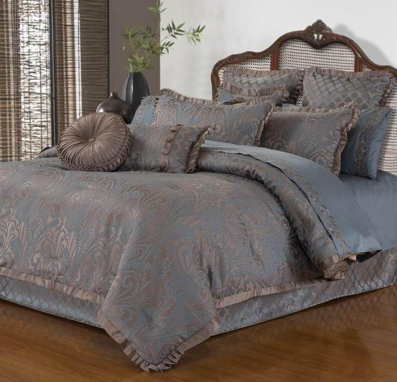 Avalon 3pc Lux Duvet Cover Set Jacquard