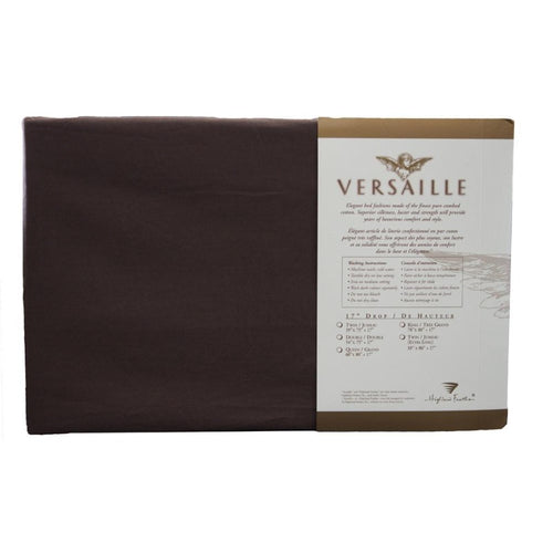300TC 100% Combed Cotton Sheets Chocolate