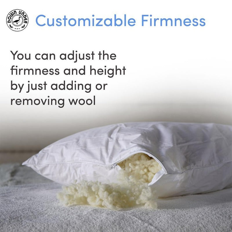 How to adjust your natural pillow firmness
