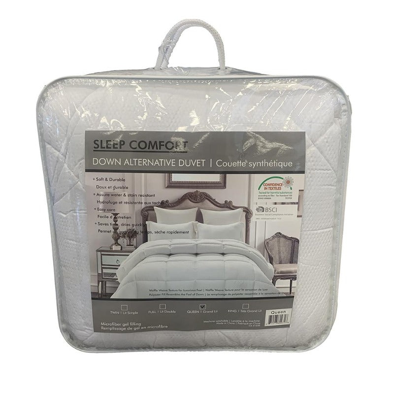 microfiber down alternative microgel duvet comforter blanket quilt warm cozy fluffy lightweight insert