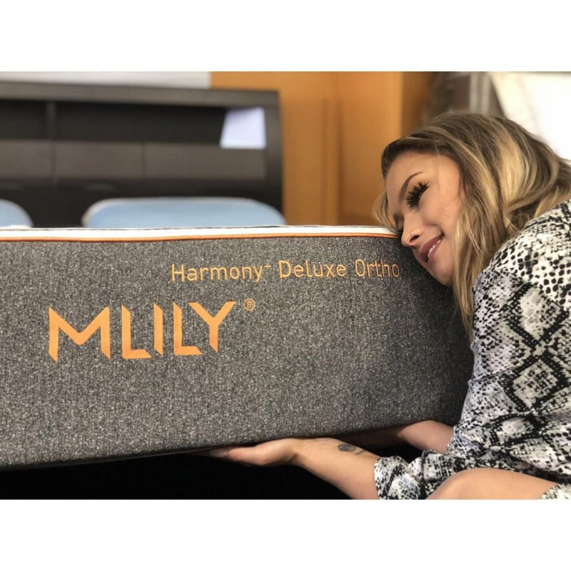 "MLILY 10"" Harmony+ Deluxe Ortho Cool Gel Zoned Support Firm Mattress"