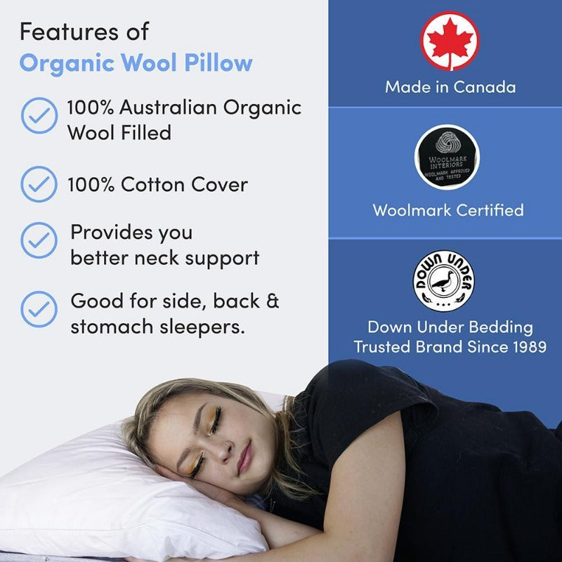 Features of Organic Cotton Pillows in Canada