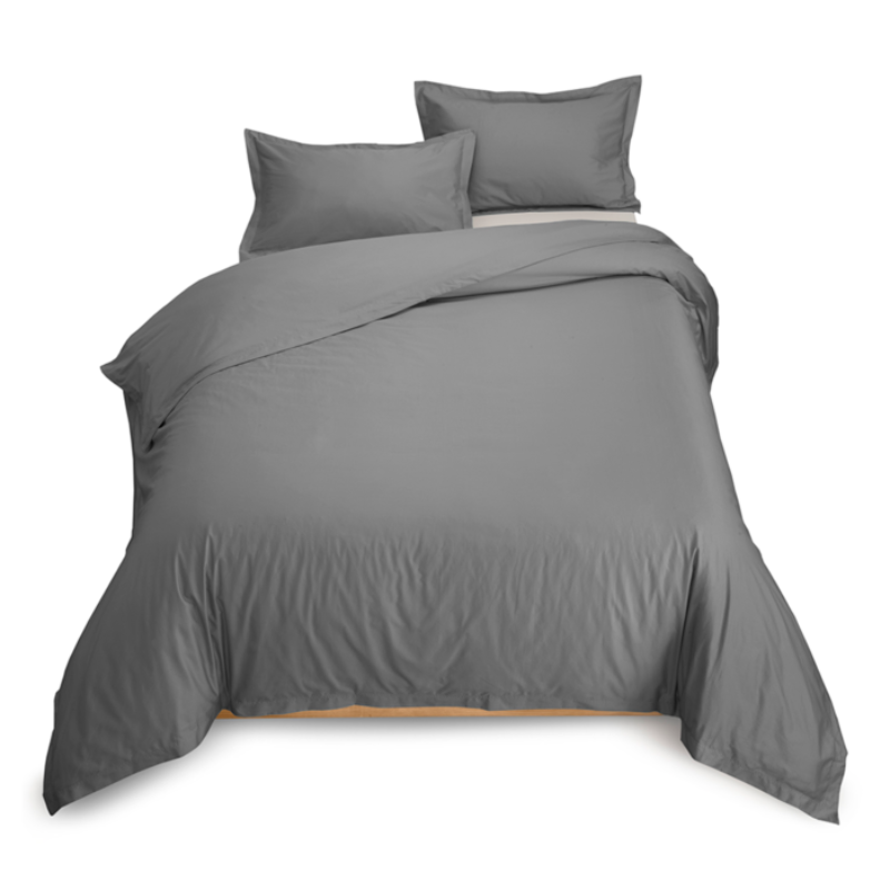 "Cal California King Extra Large Combed Cotton Duvet Cover 110"" X 100"" - Down Under Bedding and Mattresses"