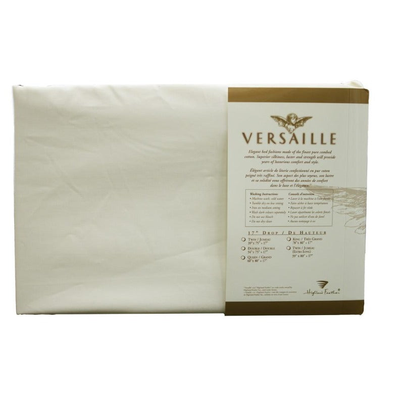 300TC 100% Combed Cotton Sheets Ivory