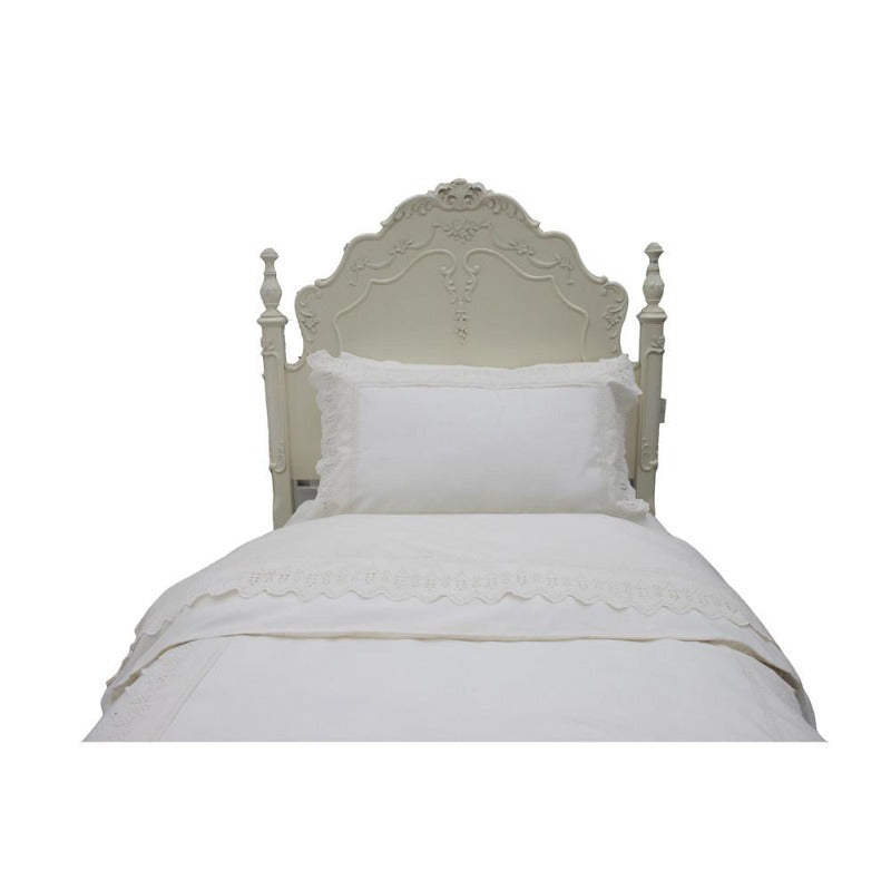 Ivory Laced Set - Down Under Bedding and Mattresses