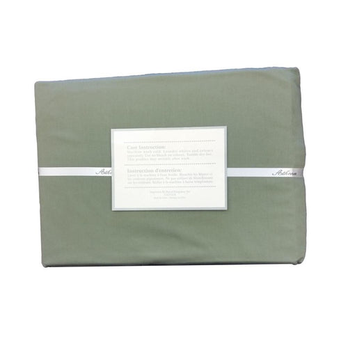 "Moss Green 100% Cotton 290TC Oversized Extra Large Duvet Cover 110"" X 100"" - Down Under Bedding and Mattresses"
