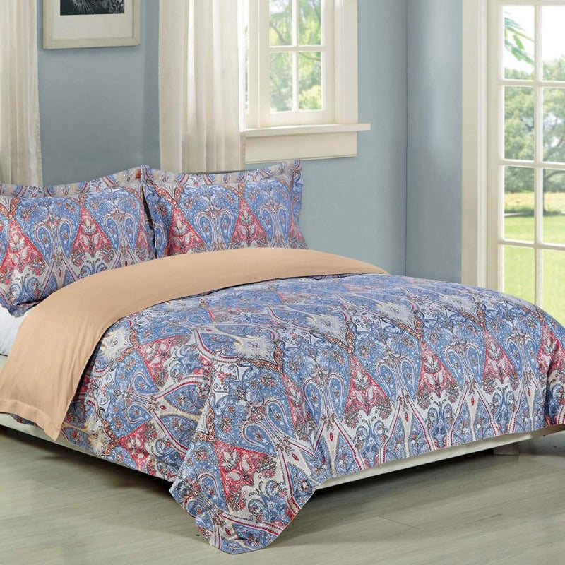 Parkland 3PC 100% Cotton Duvet Cover Set - Down Under Bedding and Mattresses