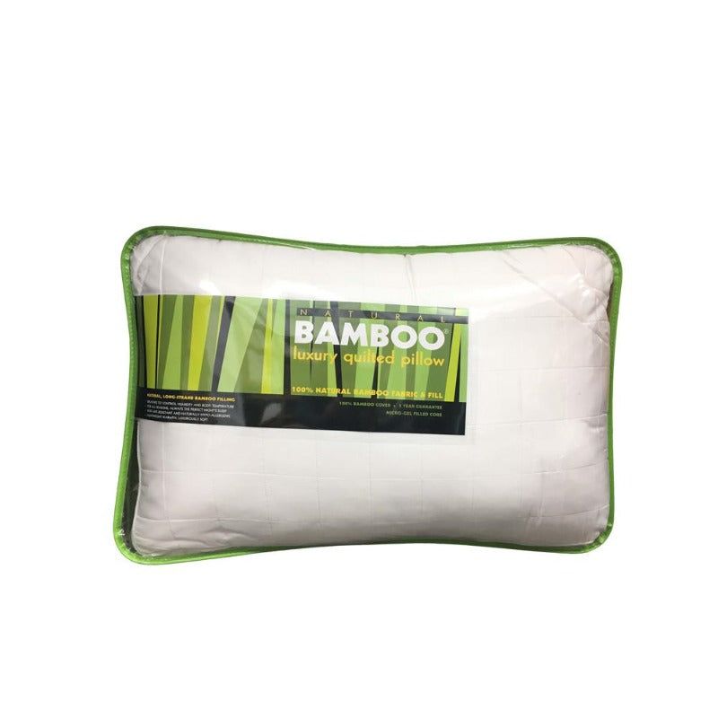 Natural Bamboo Pillow - Down Under Bedding and Mattresses