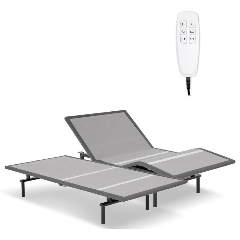 adjustable bed bases pro-motion bedroom lifestyle furniture sleek 850 lb capacity remote control king queen wireless syncing