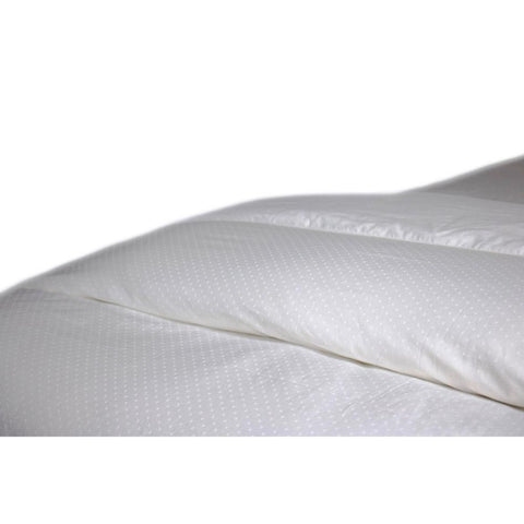 Down Under Filled in Canada Hutterite Empress White Down Duvet