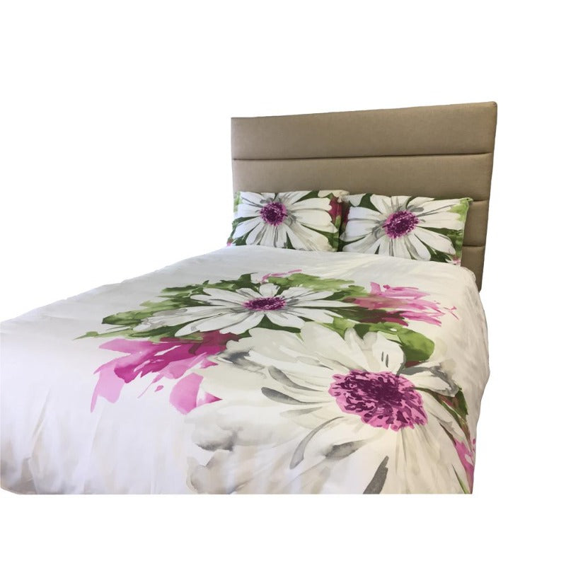 300TC 100% Cotton Gloria 3PC Duvet Cover Set - Down Under Bedding and Mattresses
