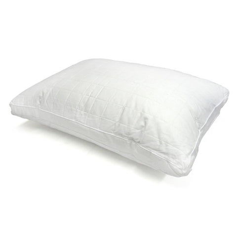 DOWN UNDER 100% Pure Latex Ventilated Air Flow Low 2 Sided Bamboo Turn Around Bed Pillow Firm