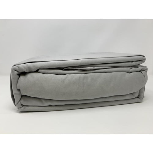 525TC 100% Cotton Sheet Set Silver - Down Under Bedding and Mattresses