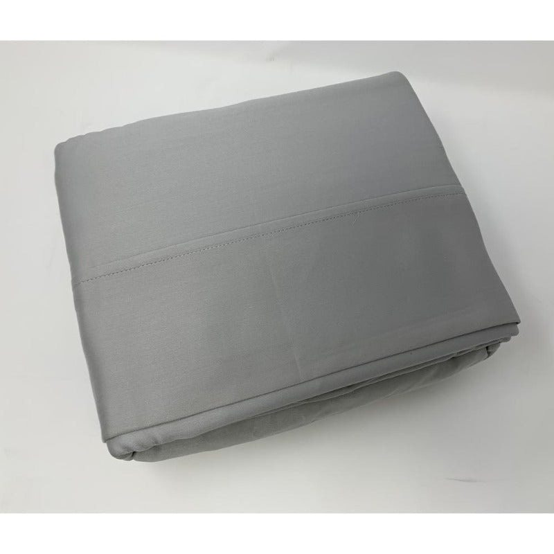 525TC 100% Cotton Sheet Set Light Grey - Down Under Bedding and Mattresses