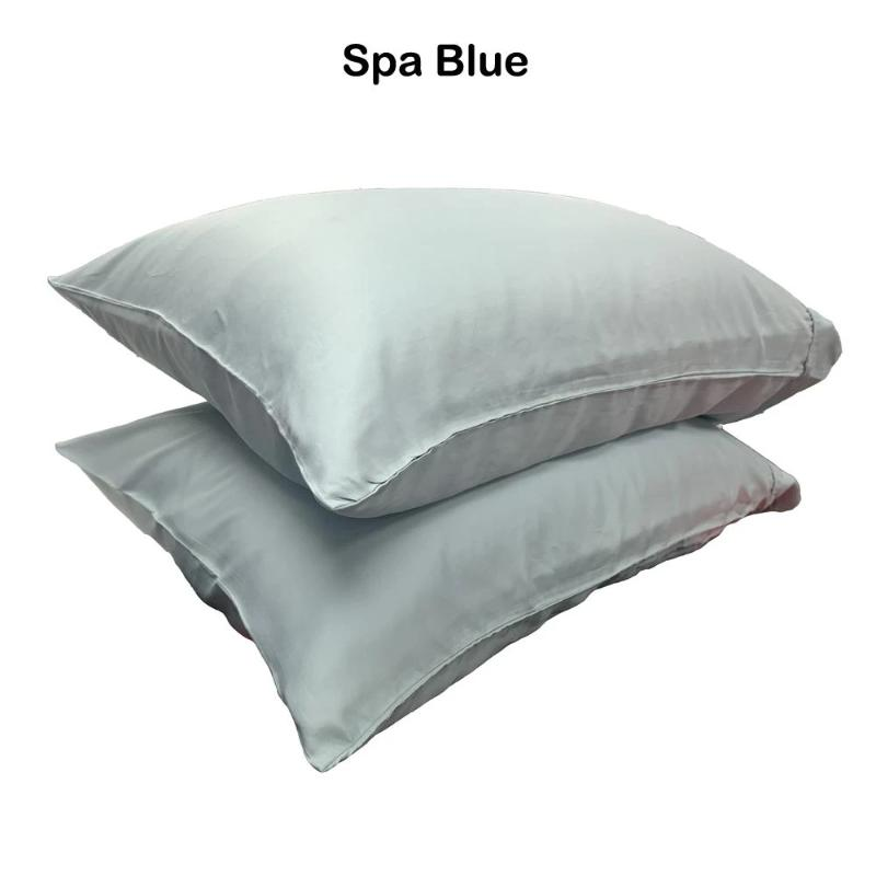 100% Rayon from Bamboo Sateen Pillowcases (Pair) - Down Under Bedding and Mattresses