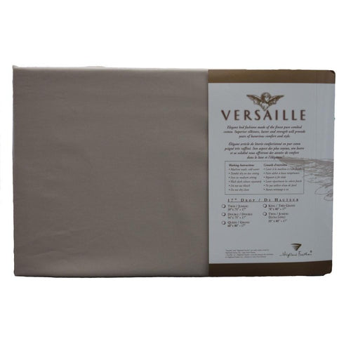 300TC 100% Combed Cotton Sheets Taupe