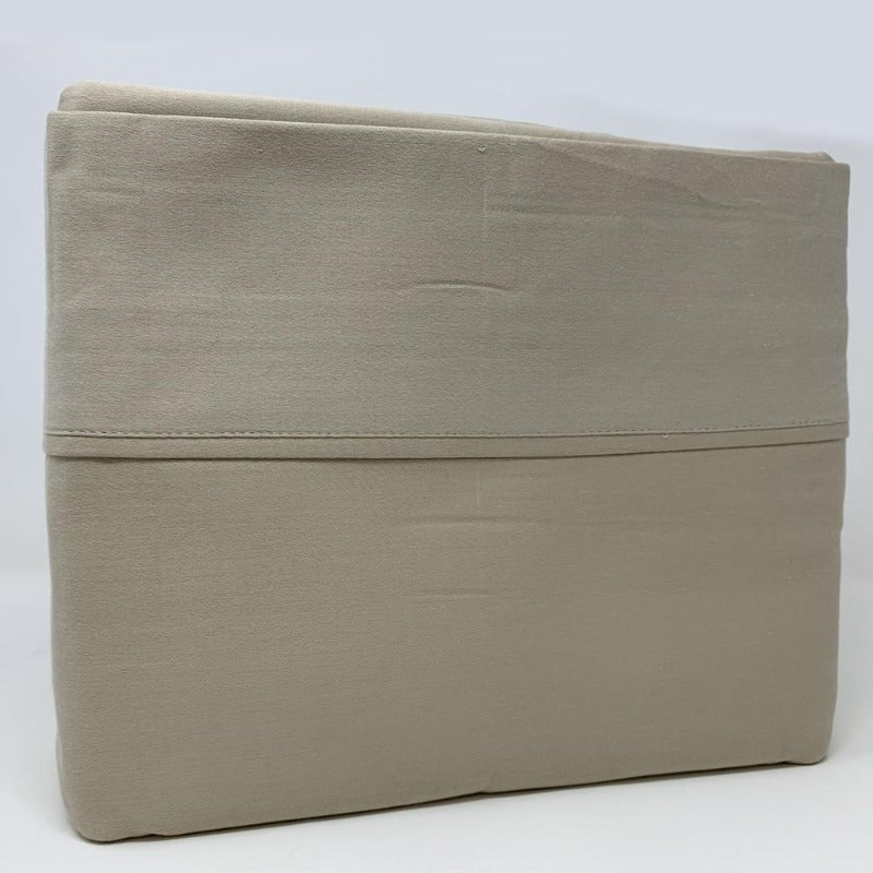 525TC 100% Cotton Sheet Set Taupe - Down Under Bedding and Mattresses