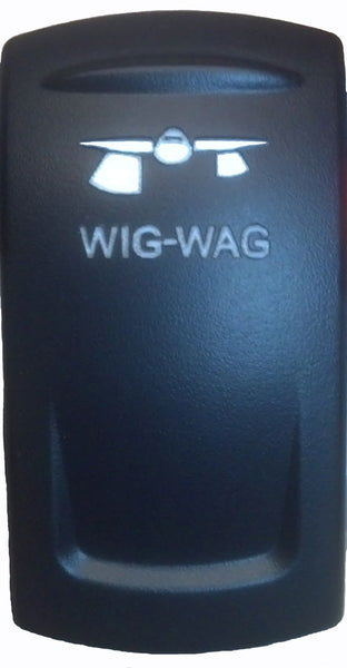 Rocker Switch Cover- Wig Wag
