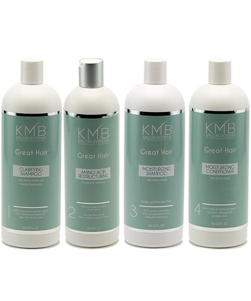 KMB Salon Great Hair Amino Acid Back Bar Kit