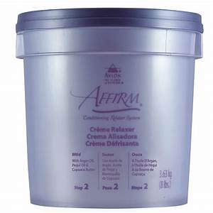 Affirm Creme Relaxer Mild 8lb (Professional Only)