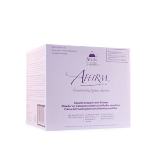 Affirm Sensitive Scalp Relaxer 9 Application Kit
