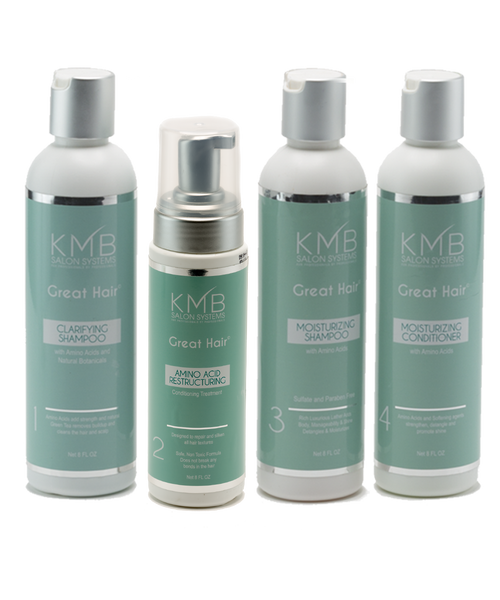 KMB Salon Great Hair Amino Acid Intro Kit
