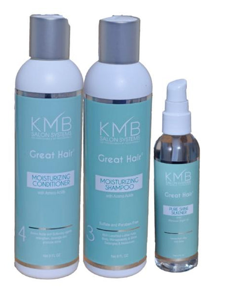 KMB Great Hair Retail Trio