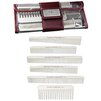 Olivia Garden Carbo Silk 6 Pack Professional Combs