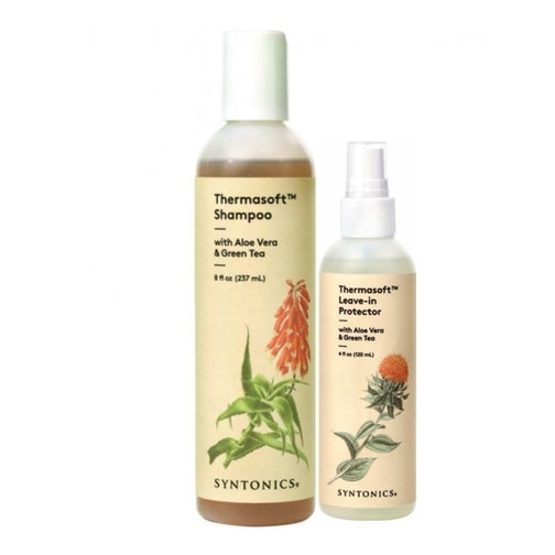 Syntonics Thermasoft Shampoo & Leave-In Protector Combination
