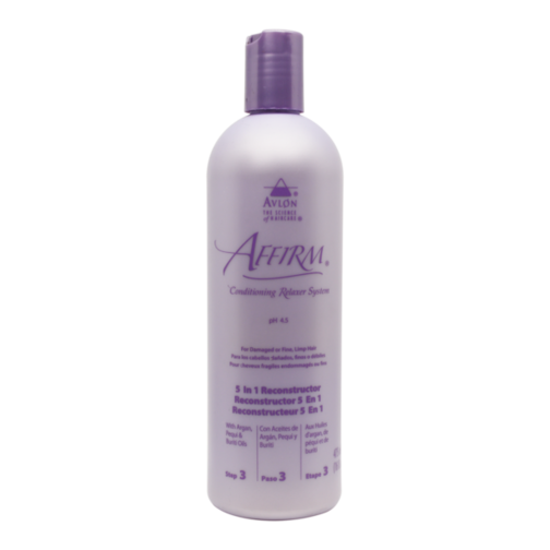 A unique blend of micro and macro fibrous conditioners that is applied immediately after rinsing the relaxer from the hair and before the normalizing shampoo While substantive conditioners are deposited well within the hair fiber Leaves hair silky smooth and manageable