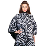 Cricket Zebra Reversible Snap Cape